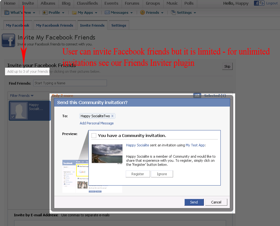 how to connect your website opencart with facebook